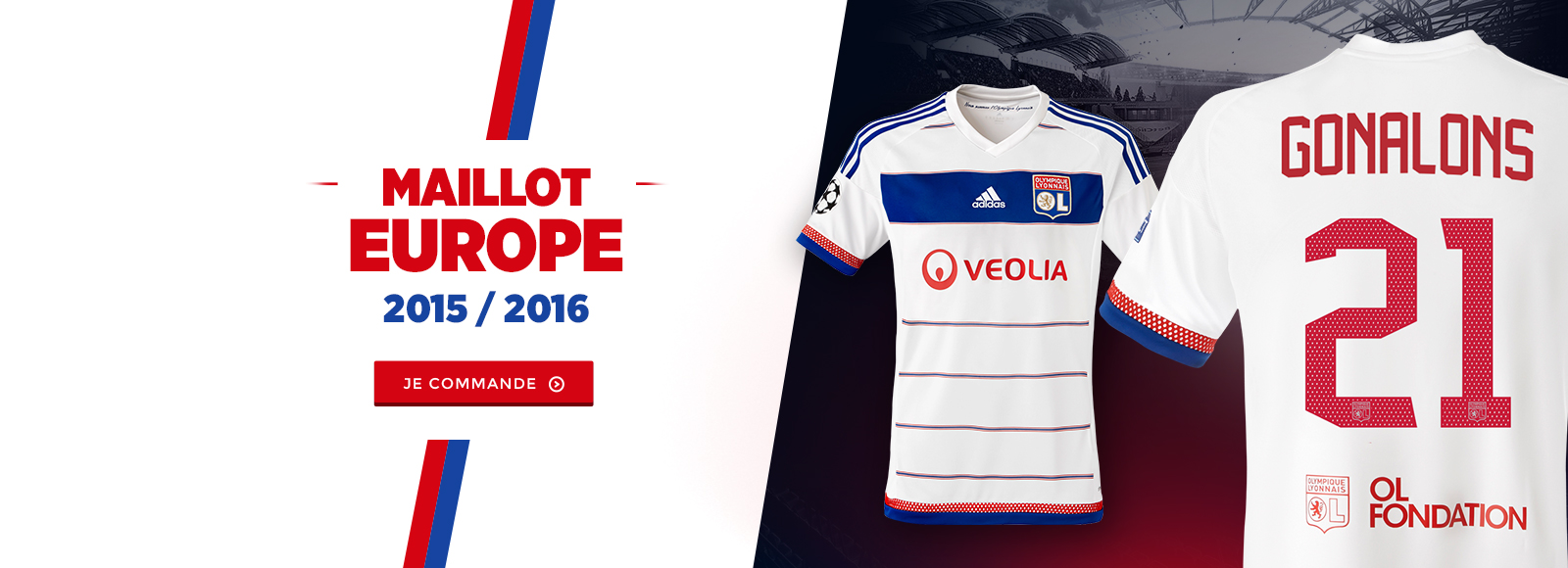 Maillot europe 2015//2016
